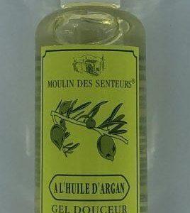 Gel douche corps et cheveux à l'huile d'Argan 200 ml