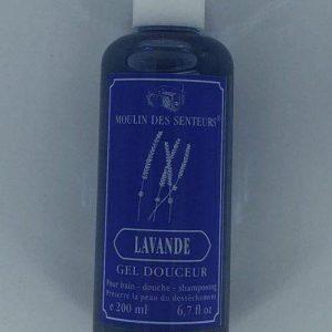 Gel douche corps et cheveux Lavande 200 ml