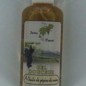 Gel douche corps et cheveux à l'huile de pépin de raisin 200 ml