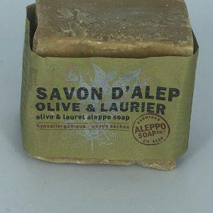 Pain savon d'Alep 200 G 6% Laurier