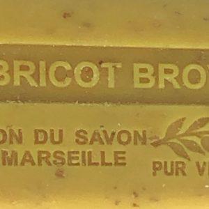 Savon 125gr au beurre de karité bio- ABRICOT BROYE