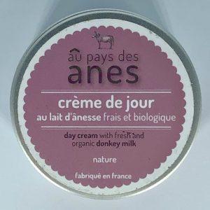 Crème de jour au lait d'ânesse frais et biologique 100 ml