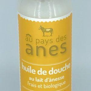 Huile de douche au lait d'ânesse frais et biologique 250 ml