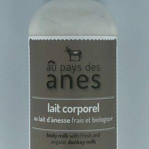Lait corporel au lait d'ânesse frais et biologique 500 ml