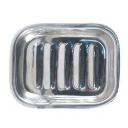 Porte-savon d'Alep rectangulaire en acier inoxydable