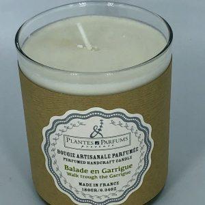 Bougie Végétale Parfumée Balade en Garrigue