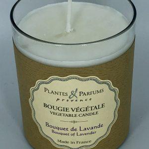 Bougie Végétale Parfumée Bouquet de Lavande