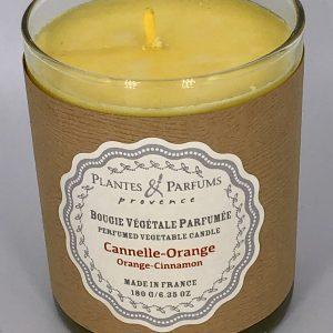 Bougie Végétale Parfumée Cannelle Orange