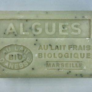 Savon de Marseille au lait d'ânesse BIO Algues