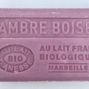 Savon de Marseille au lait d'ânesse BIO Ambre