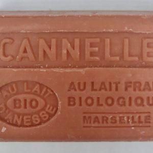 Savon de Marseille au lait d'ânesse BIO Cannelle