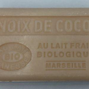 Savon de Marseille au lait d'ânesse BIO Coco