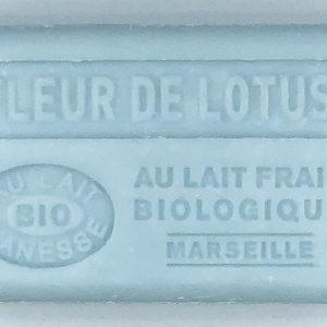 Savon de Marseille au lait d'ânesse BIO Fleur de Lotus
