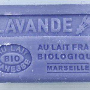 Savon de Marseille au lait d'ânesse BIO Lavande