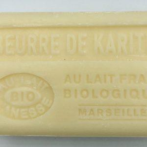 Savon de Marseille au lait d'ânesse BIO Karité