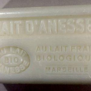 Savon de Marseille au lait d'ânesse BIO Lait d'ânesse