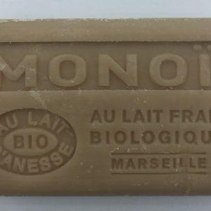 Savon de Marseille au lait d'ânesse BIO Monoï