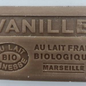 Savon de Marseille au lait d'ânesse BIO Vanille