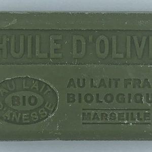 Savon de Marseille au lait d'ânesse BIO Huile d'olive