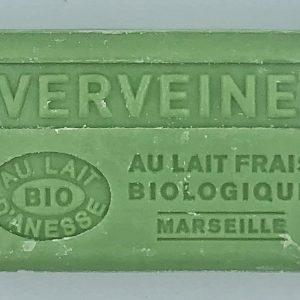 Savon de Marseille au lait d'ânesse BIO Verveine