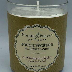 Bougie Végétale Parfumée A l'Ombre du Figuier